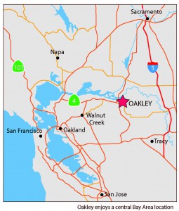 Oakley Location map-01